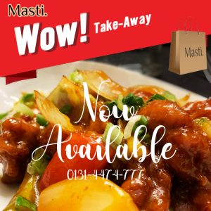 Masti Takeaway in Morningside Road, Edinburgh, Scotland